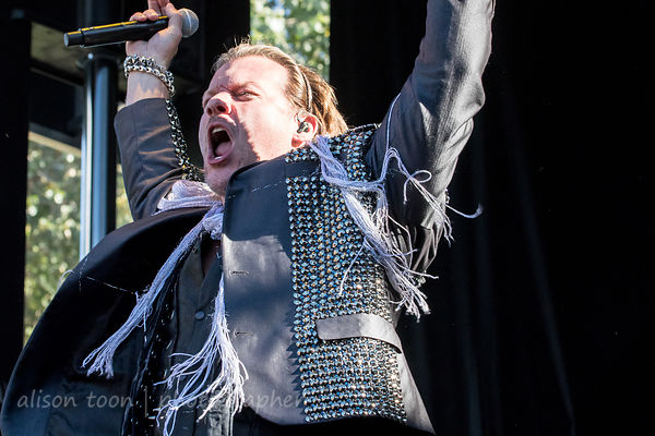 Fozzy at Aftershock 2017