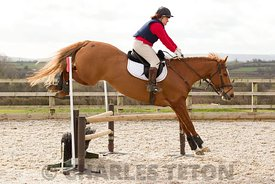 Nick Gauntlett Simulated Cross-Country Training at West Wilts on Monday 28th March 2016.