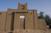 Former house of the famous scholar Ahmed Baba, Timbuktu, Mali