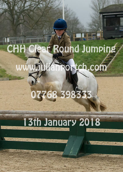 1st Round - Clear Round Jumping