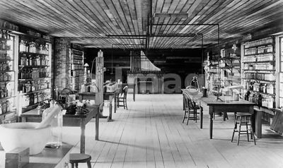 Reconstruction of Edison's Menlo Park lab