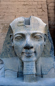 colossal statue of Rameses II in the Temple of Luxor, Luxor, Egypt