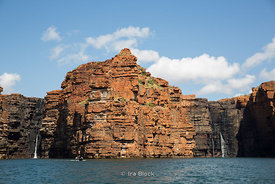 The King George Falls on the King George Riverin Australia's Kimberley.
