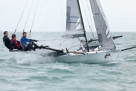 18ft Skiff European Grand Prix, Sandbanks, 20160904035