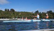Taken during the World Masters Games - Rowing, Lake Karapiro, Cambridge, New Zealand; ©  Rob Bristow; Frame 1316 - Taken on: ...