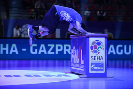 Dancers during the Final Tournament - Semi final match - PPD Zagreb vs Celje Pivovarna Lasko - Final Four - SEHA - Gazprom l...