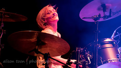 Hayley Cramer, drums, Pop Evil