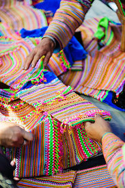Flower Hmong Emroidery Material