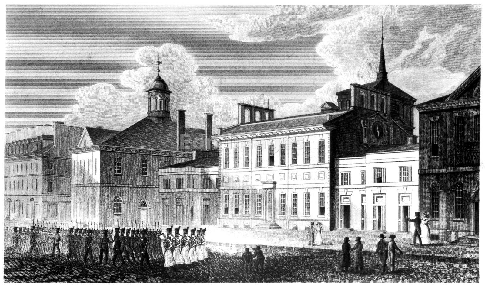 Independence Hall during American Revolution