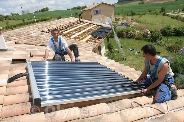 Solars Panels thermic