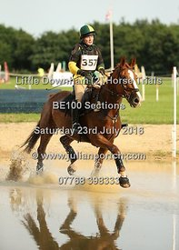 BE100 Open - Saturday 23rd July 2016