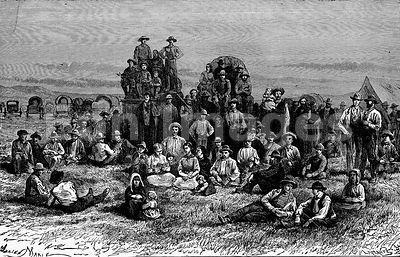 Mormon emigrants