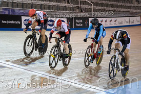 Junior Men Keirin 7-12 FinalOntario Track Championships, March 3, 2019