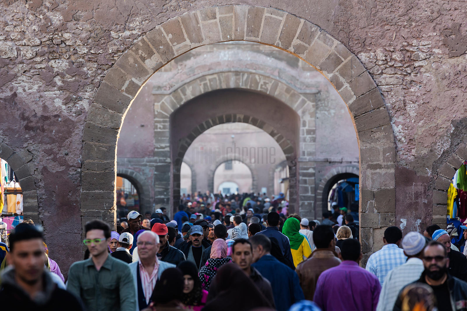 Afternoon Crowds at the Souk