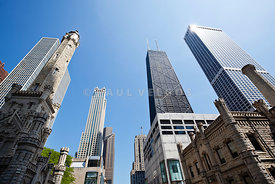 Photo of Chicago Michigan Avenue Buildings