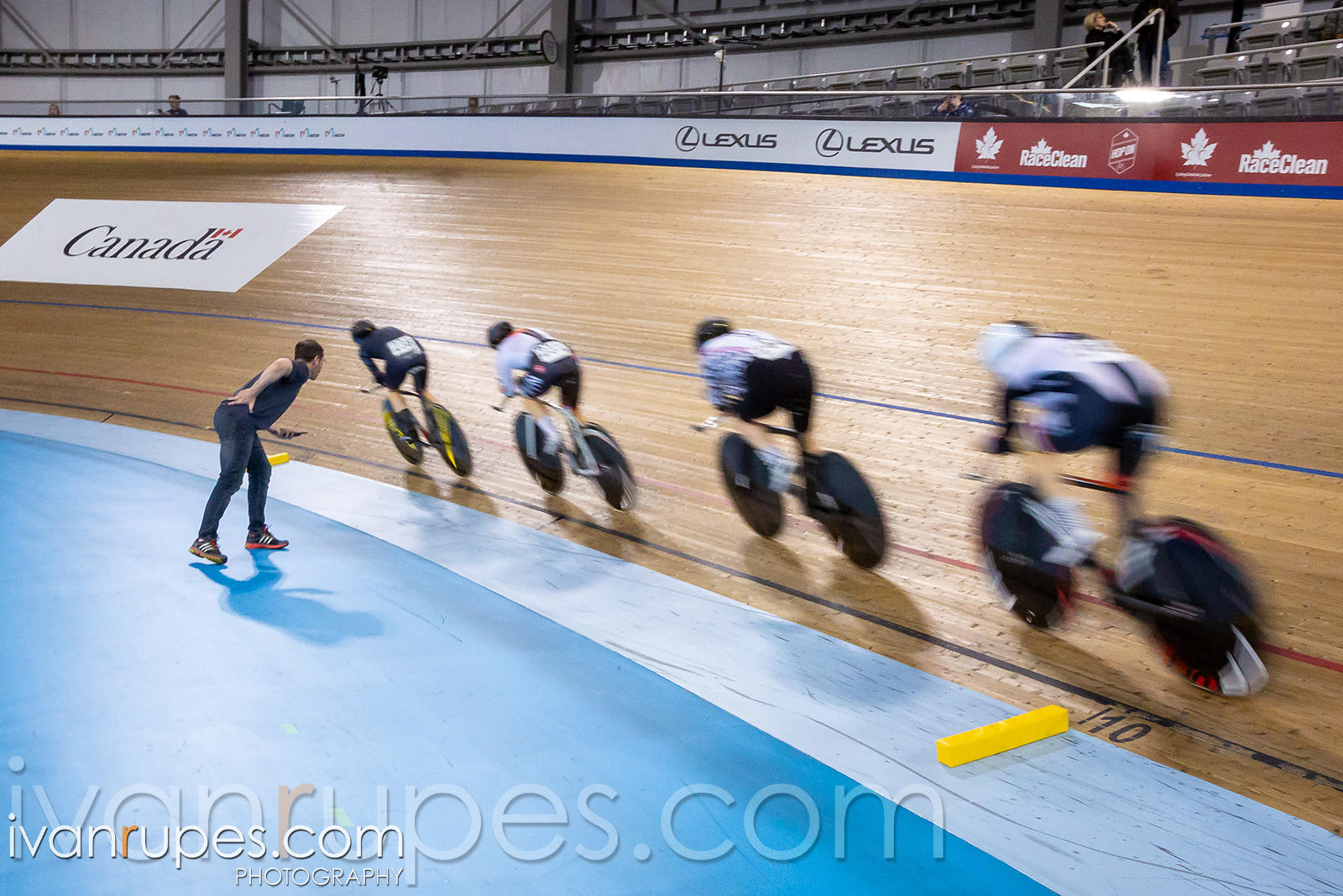 Women Team Pursuit. Ontario Track Championships, March 3, 2019