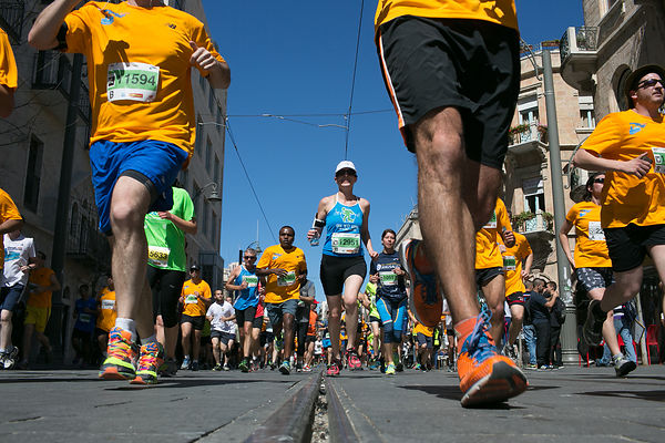 JERUSALEM MARATON 2014 photos