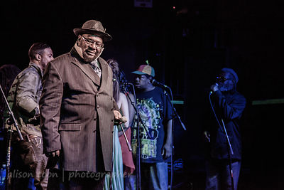 SACRAMENTO, CA - MARCH 30: George Clinton and Parliament Funkadelic, performing at the Ace of Spades, Sacramento CA, on March...