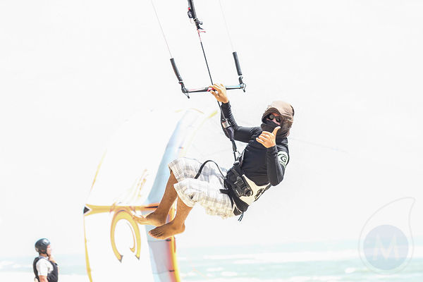 Digital shoot event kiteboarding