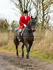 Major Tim Brown. The Cottesmore Hunt at Somerby