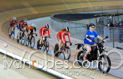 U17 Women Keirin First Round, Ontario Track Championships Day 3, April 12, 2015