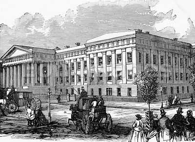 The New Patent Office, Washington
