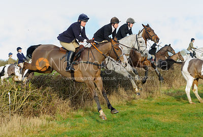 The Belvoir Hunt at Waltham House 14/1