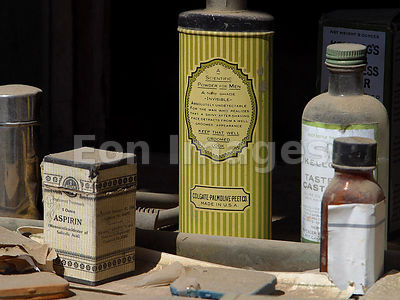 19th-century medicines on display