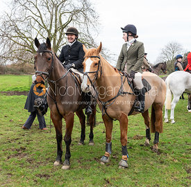 Paul Towns, Hattie Towns At the meet at Merrivale Farm 5/1