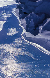 Melting Sea-Ice