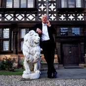 John Caudwell, millionaire businessman and founder of Phones 4 U outside his home