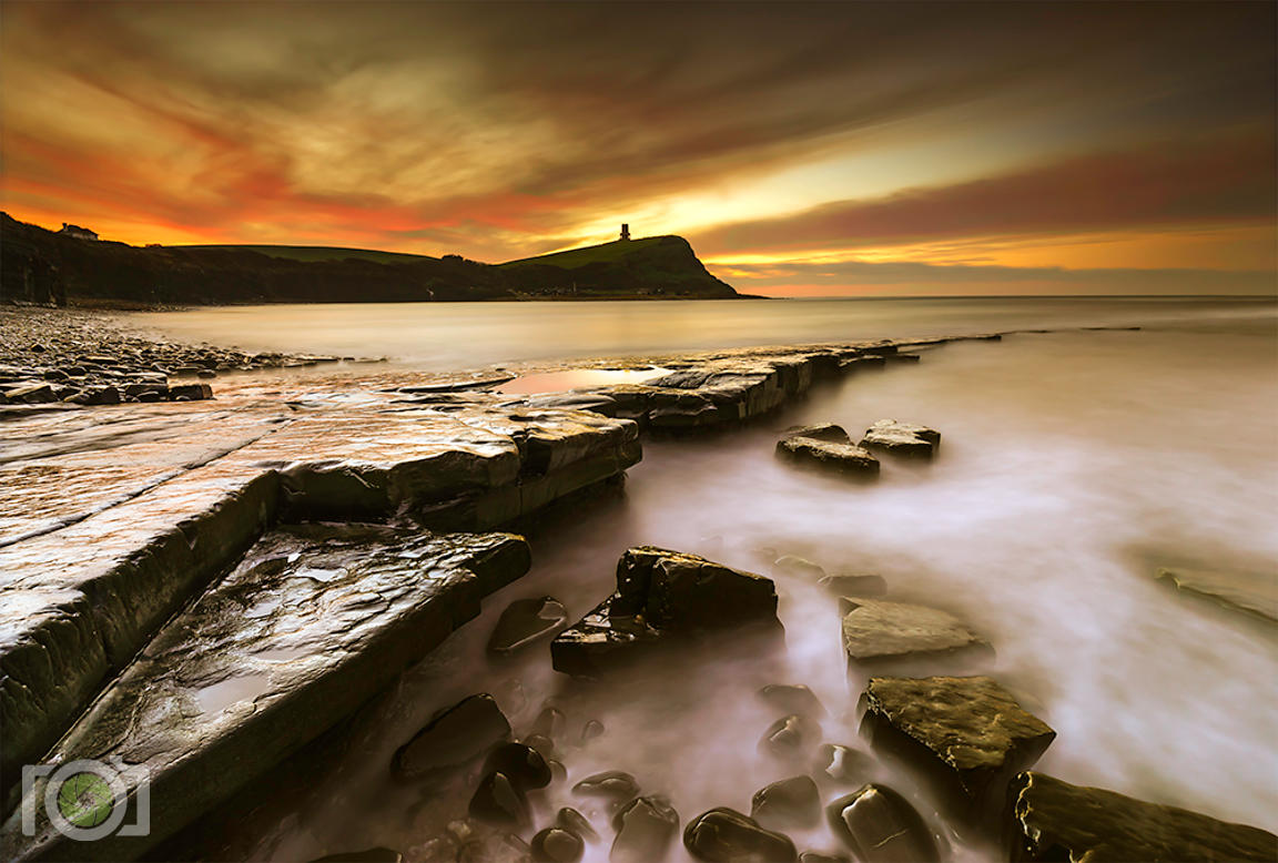 Winter morning Kimmeridge Bay
