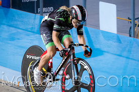 Elite Women Sprint Qualification.  2015 Canadian Track Championships, October 8, 2015