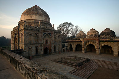 India - New Delhi - The Bara Gumbad and the Mehman Khana, Lodhi Gardens