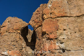 Clarno Arch at the Clarno Palisades in John Day Fossil Beds National Monument