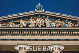 Pediment Detail at Philadelphia Museum of Art