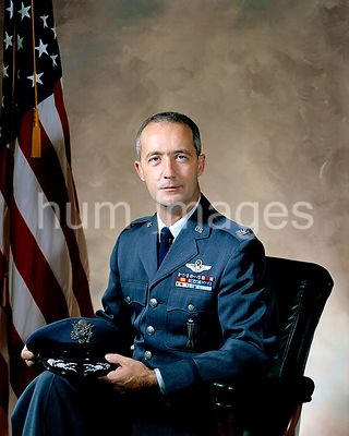 (December 1968) --- Portrait of astronaut James A. McDivitt, in his Air Force uniform with rank insignia showing he is Air Fo...