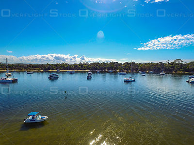 Boating at Noosa Heads Queensland Australia