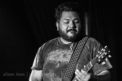 Ivan Parra, lead guitar, Fair Struggle