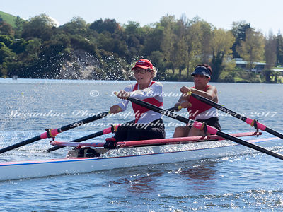 Taken during the World Masters Games - Rowing, Lake Karapiro, Cambridge, New Zealand; ©  Rob Bristow; Frame 384 - Taken on: T...
