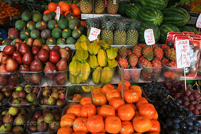 Many fruits for sale