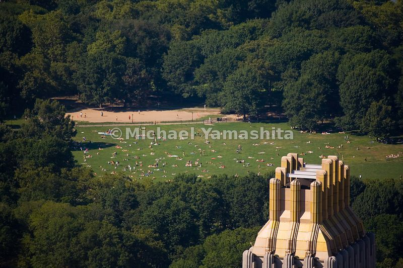 On any given summer afternoon, sunbathers and picnickers find their ways to the Sheep Meadow, where flocks of sheep grazed un...