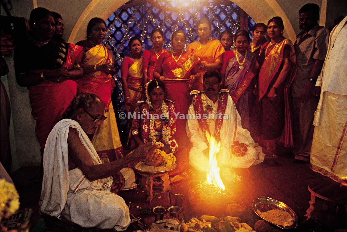 Yajna is any ritual performed in front of a sacred fire usually with mantras.