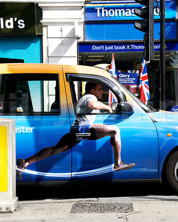 LONDON TAXI, 2012