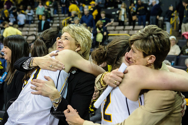 P-C - Women's Basketball, Iowa vs Minn, March 1, 2015