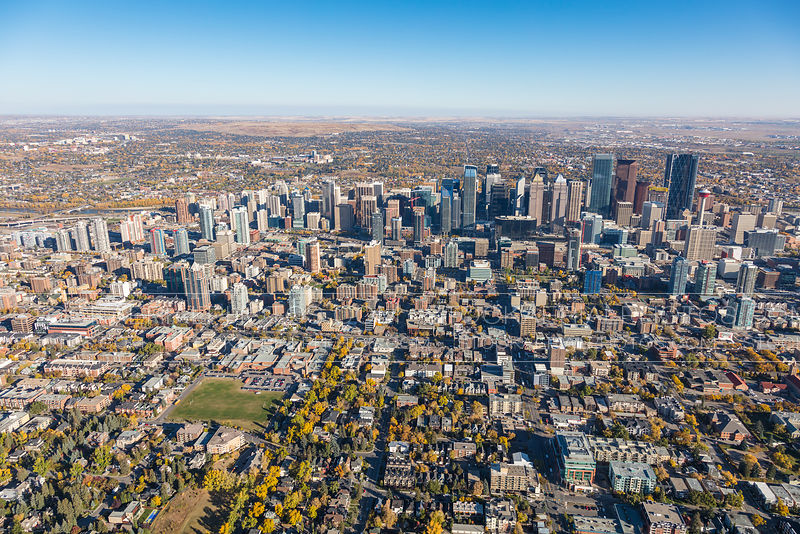Downtown Calgary, Beltline