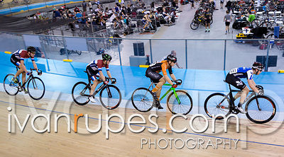 U17 Men Scratch Race. 2016/2017 Track O-Cup #3/Eastern Track Challenge, Mattamy National Cycling Centre, Milton, On, February...