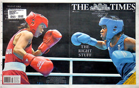 The Times 9 August 2012 - Wraparound Front Cover.3971673 – Steven Paston.