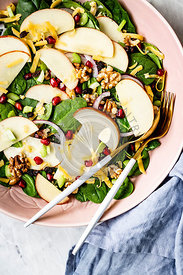 A Healthy Apple Salad
