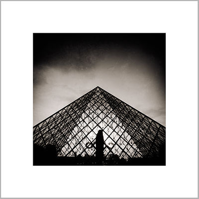23rd July 2013 - Louvre Pyramid - Paris (France)